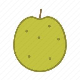 apple, dessert, food, fruit icon