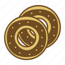 bakery, dessert, donut, doughnut, food icon