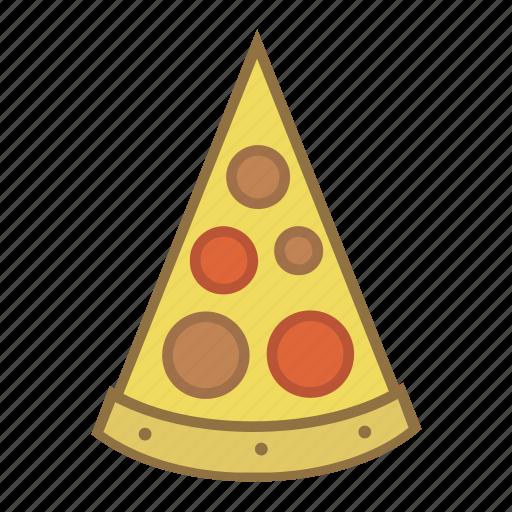 fast, food, italian, piece, pizza, slice, snack icon