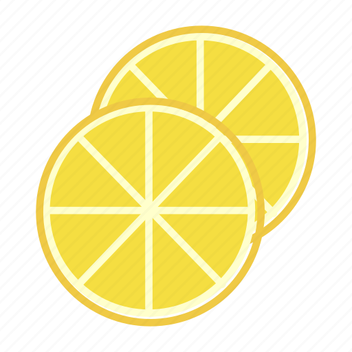 citrus, food, fruit, lemon, slices icon