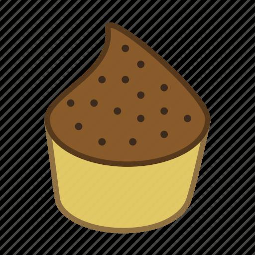 cake, cupcake, dessert, food, sweet icon