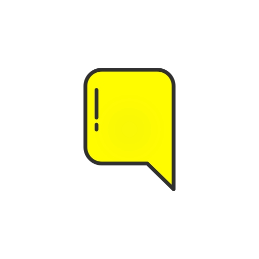 chat, inbox, message, snapchat icon