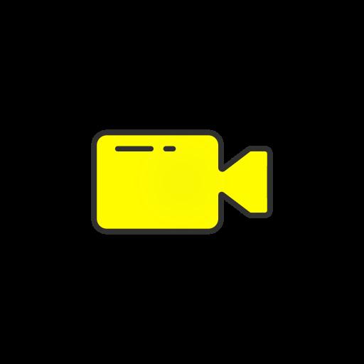 record, snapchat, video, video record icon