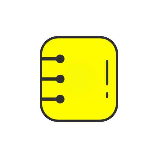 Contact list, list, log, snapchat icon - Free download