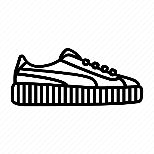 creeper, footwear, puma, rihanna, sneaker, sneakerhead, sneakers icon