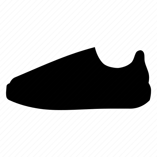 footwear, rubber, shoe, shoes, silhouette, sneakers, trainers icon