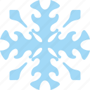 frost, ice, ornament, snow, winter icon