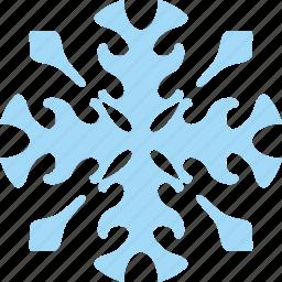 frost, ice, ornament, snow, winter icon
