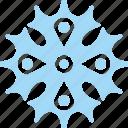 frost, ice, snow, snowflake