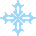 frost, nature, ornament, snow, winter icon