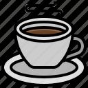 hot, coffee, beverage, mug, drink, cup, restaurant