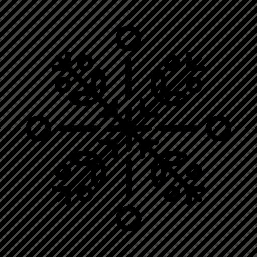 Alpine, arctic, christmas, snowflake, snowflakes, winter icon - Download on Iconfinder