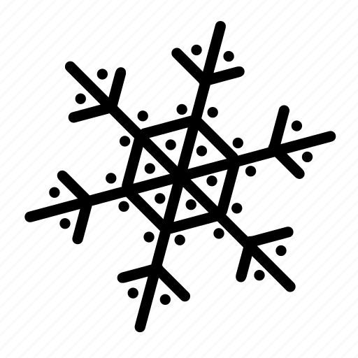 christmas, flakes, holiday, ornaments, snow, snowflakes, winter icon