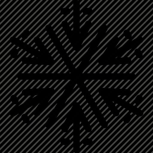 christmas, ice crystal, snow, snow crystal, snowflake, white christmas, winter icon