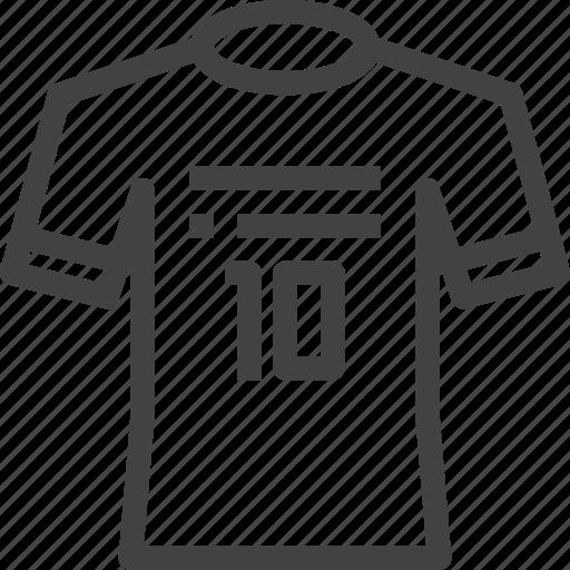 equipment, football, jersey, soccer, sport icon