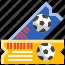 football, soccer, sport, ticket