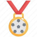 award, competition, football, medal, prize, soccer, winner icon