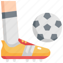 ball, competition, football, shoes, soccer, sport, stud icon