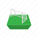 cartoon, football, game, goal, handball, play, soccer icon