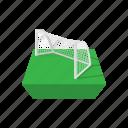 cartoon, football, goal, soccer, game, handball, play