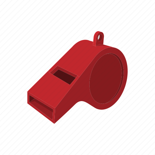 blower, cartoon, element, police, sound, tool, whistle icon