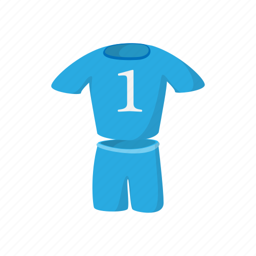 cartoon, jersey, kit, shirt, soccer, sport, uniform icon