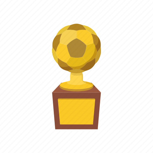 ball, bowl, cartoon, champion, cup, golden, trophy icon