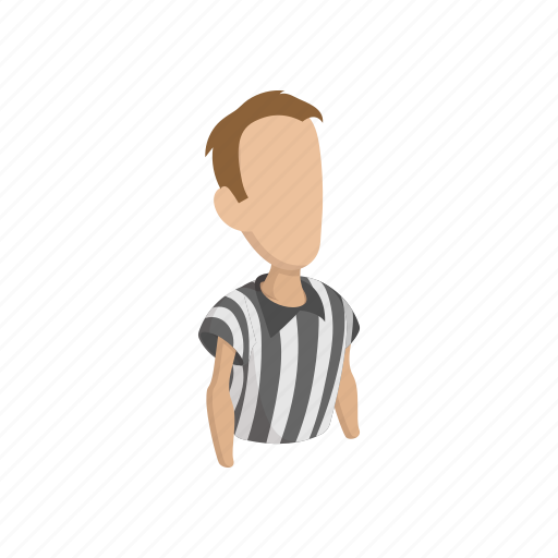 Cartoon, football, discipline, display, judgment, off, referee icon - Download on Iconfinder