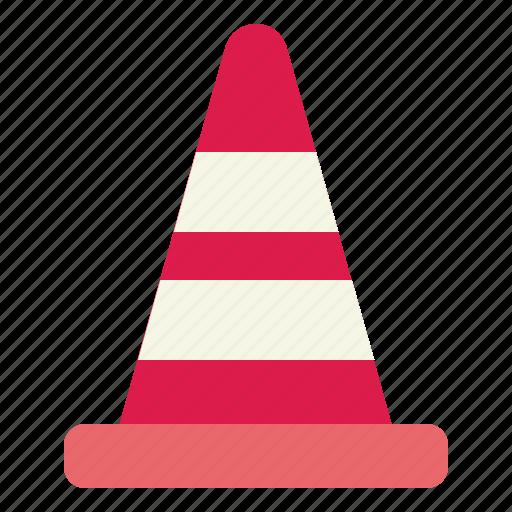 barrier, cone, cones, tool, training icon