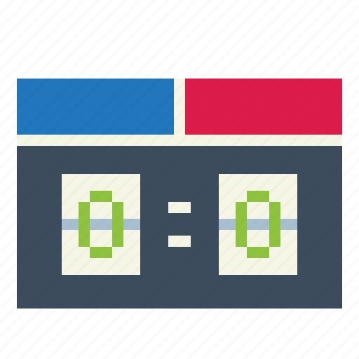 scoreboard, scoring, sports, stadium icon