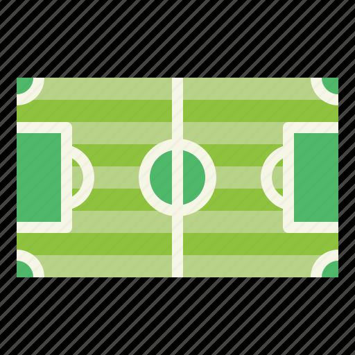 field, football, grass, soccer, sports, stadium icon