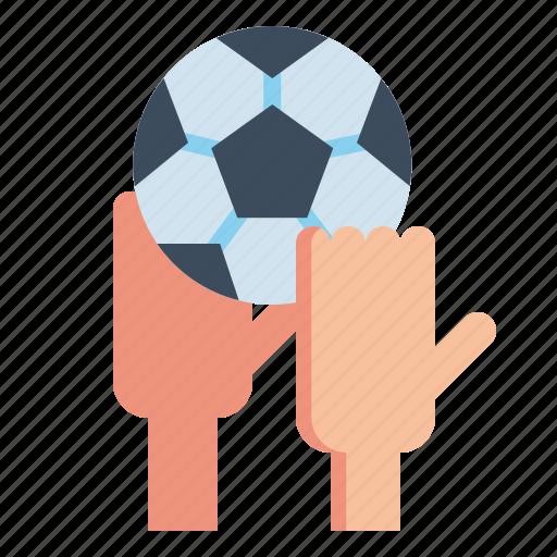 athlete, football, in, sports, throw, throwing icon