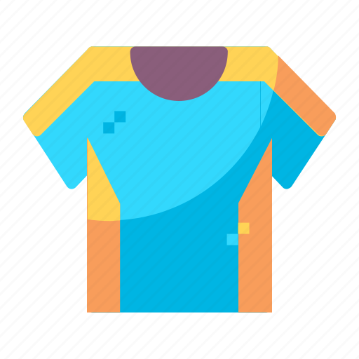 football, soccer, sports, tshirt icon