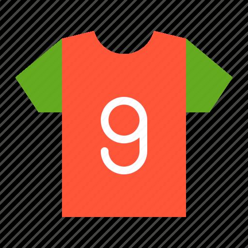 clothing, shirt, soccer, soccer shirt icon
