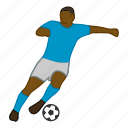 african, football, futball, fußball, player, soccer, sport icon