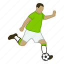 asian, football, futball, fußball, player, soccer, sport icon