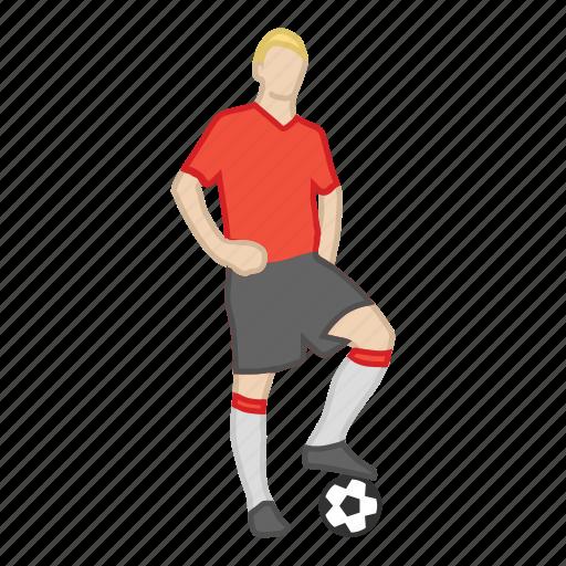 ball, football, futball, fußball, player, soccer, sport icon