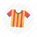 athlete, football, game shirt, soccer, soccer shirt, sport shirt, sports icon
