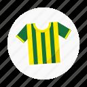 brazil, football, football shirt, shirt, soccer, soccer shirt, sport shirt icon