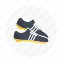 football, shoe, shoes, soccer, soccer shoes, sport, sports icon