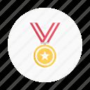 award, awards, champion, football, gold, medal, soccer icon