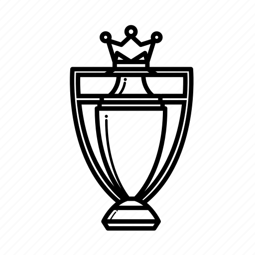 Champions, league, premier, trophy icon
