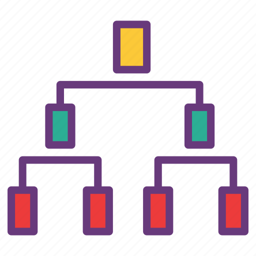 connection, database, multi users, networking, server, sharing icon