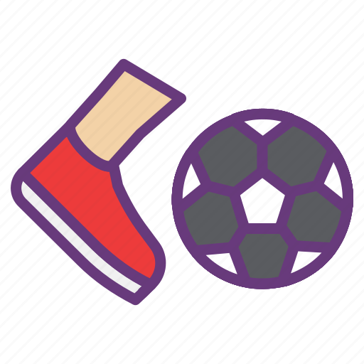foot ball, game, goal, kick, playing, soccer, sports icon