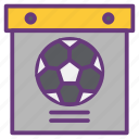 accessories, box, equipment, soccer, tool box, tools icon