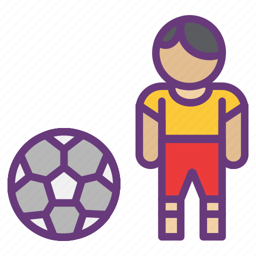 avatar, ball, game, goal, play ground, player, start icon