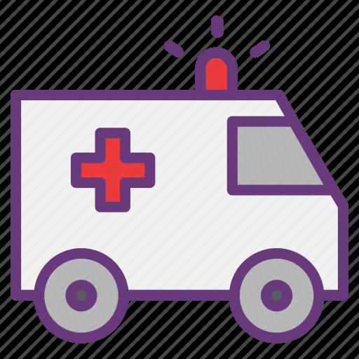 ambulance, emergency, hospital, medical, patient, pharmacy, vehicle icon