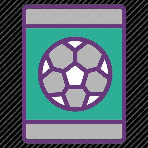 data visualization, equipment, gadget, mobile app, smart phone, soccer, tool icon