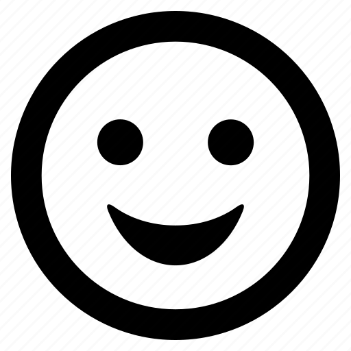 emoticon, face, happy, smiley, smiling icon