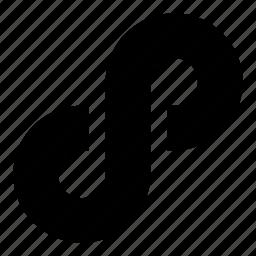 habit, infinite, infinity, link, loop, repeat, shape icon